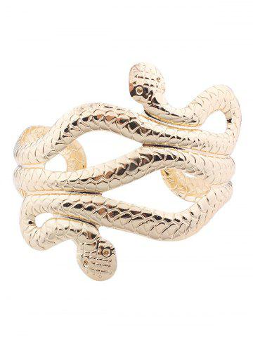 Sale Punk Snake Shape Multilayered Cuff Bracelets