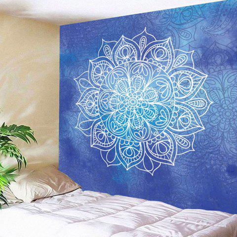 Trendy Mandala Flower Printed Wall Decor Tapestry