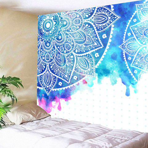 Affordable Mandala Flower Print Wall Decor Tapestry