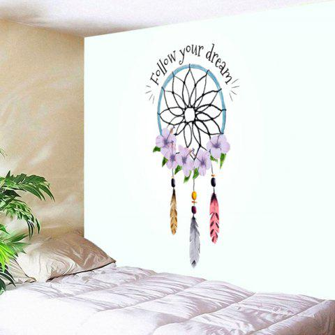 Shop Dreamcatcher Letter Print Wall Art Tapestry