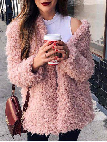 Best Collarless Faux Fur Coat