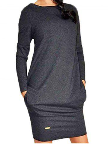 Latest Casual Long Sleeve Dress