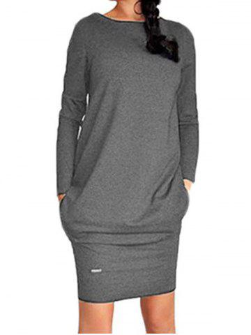 New Casual Long Sleeve Dress