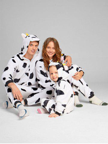 Hot Milch Cow Animal Onesie Matching Family Christmas Pajamas