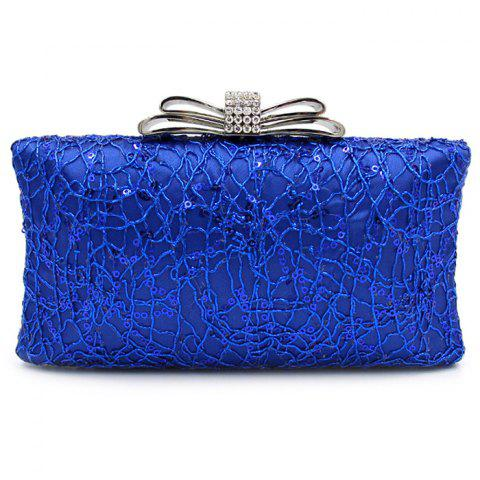 Hot Beading Metallic Rhinestone Evening Bag