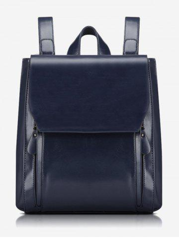Discount Stitching PU Leather Backpack With Handle