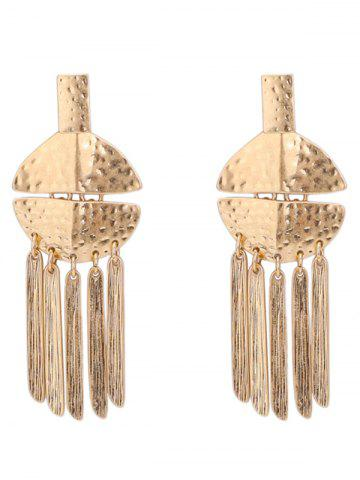 Сплав с надписью Fringed Earrings
