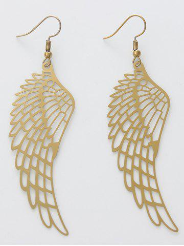 Store Alloy Angel Wing Hook Earrings
