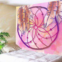 Tapisserie d'impression de Dreamcatcher de mur accrochant -