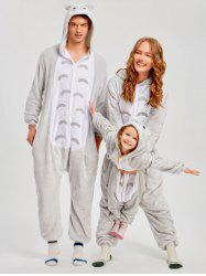 Christmas Cut Cat Animal Onesie Pajama -