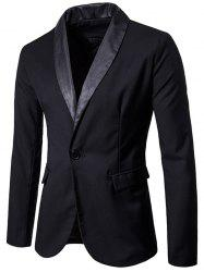 Shawl Collar One Button Tuxedo -