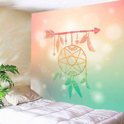 Wall Art Arrow Dreamcatcher Printed Tapestry -