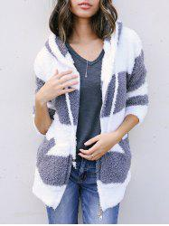 Faux Fur Zipper Jacket -