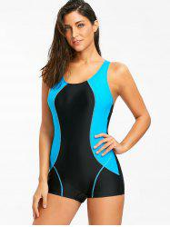 Maillot de bain Surf Color Block Racerback One Piece -