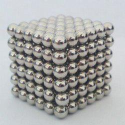 216 Pcs 3mm Education Toys Magnet Toys Multi Molding Buckyballs - Silver