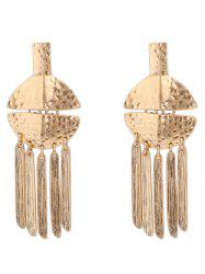 Сплав с надписью Fringed Earrings -