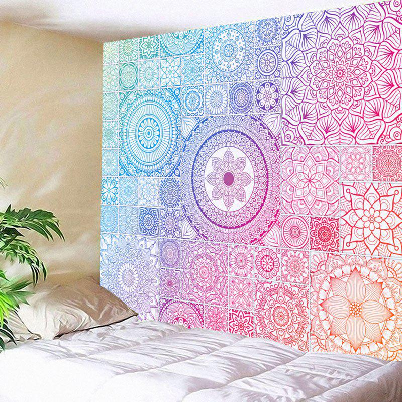 Outfit Mandala Wall Hanging Floral Print Tapestry