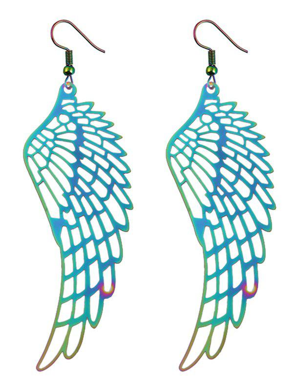 Outfits Alloy Angel Wing Hook Earrings