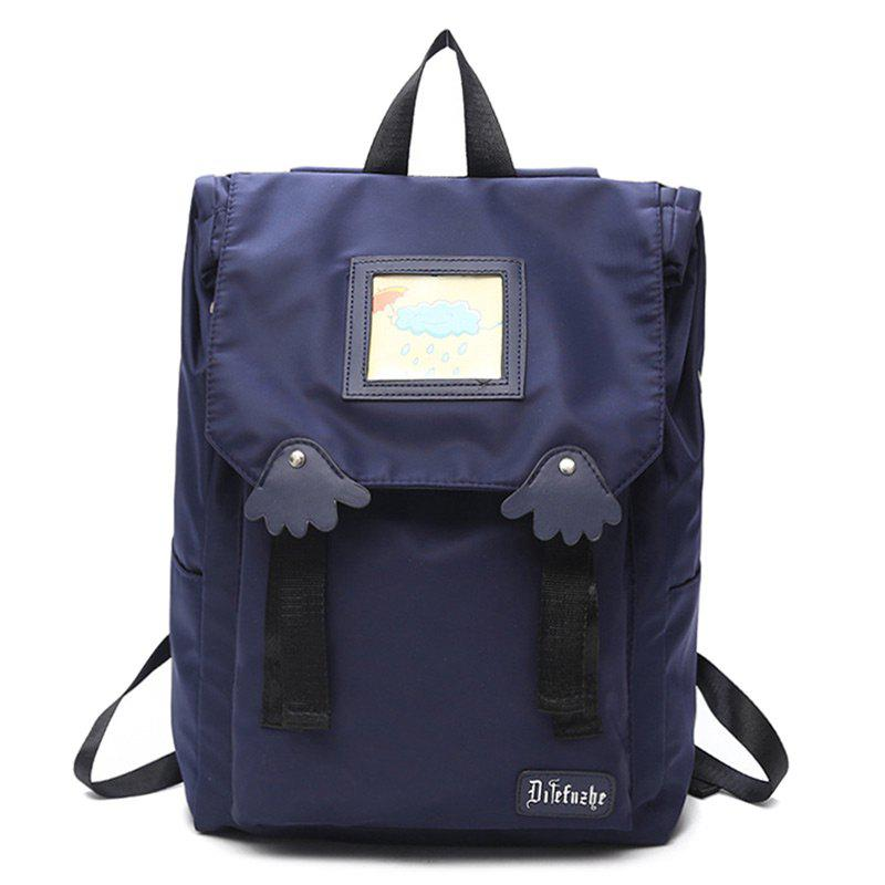Affordable Palm Cartoon Letter Backpack