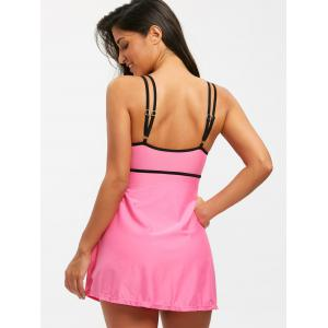 Padded Spaghetti Strap One Piece Swimsuit -