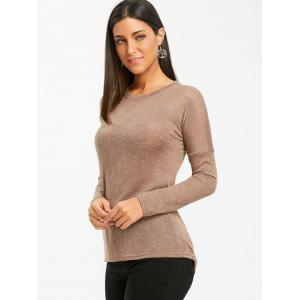 Tunic Asymmetrical Sweater -