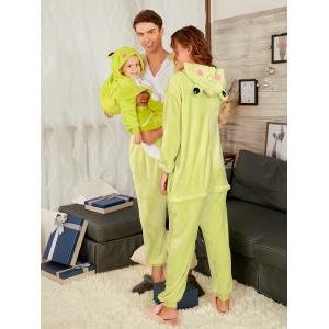 Frog Animal Onesie Matching Family Christmas Pjs -