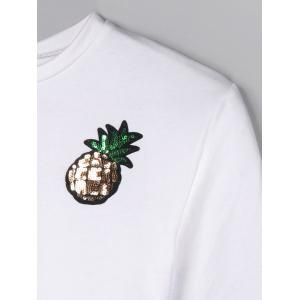 Sequine Pineapple Crop Top -