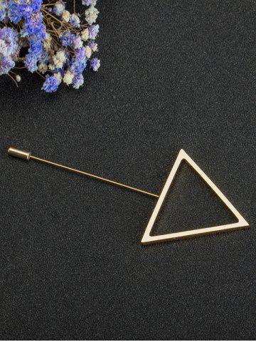 Hot Simple Triangle Alloy Brooch