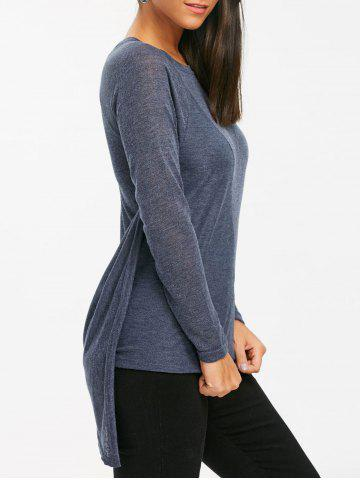 Outfits Tunic Asymmetrical Sweater