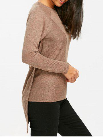 Discount Tunic Asymmetrical Sweater