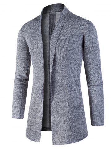 Best Jacquard Knitted Open Front Cardigan
