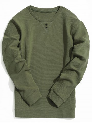Discount Textured Mens Sweatshirt