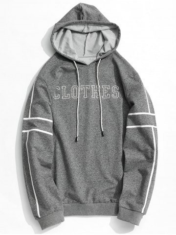 Latest Clothes Graphic Striped Hoodie