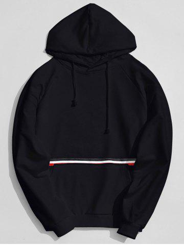 Best Striped Kangaroo Pocket Hoodie
