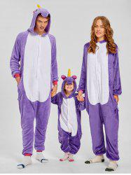 Unicorn Matching Family Christmas Onesie Pajamas -