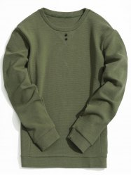 Textured Mens Sweatshirt -