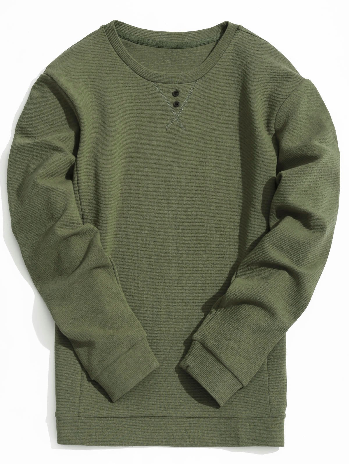 Cheap Textured Mens Sweatshirt