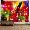 Waterproof Christmas Handbell Printed Wall Art Tapestry -