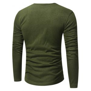 Pull-over à Encolure Clasique en V -