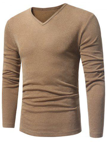 Outfits V Neck Pullover Sweater