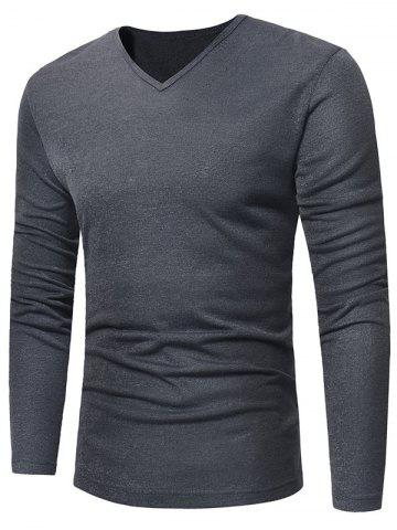 Fashion V Neck Pullover Sweater