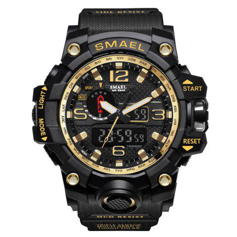 Hot Multifuctional Alarm Quartz Digital Sport Military Watch
