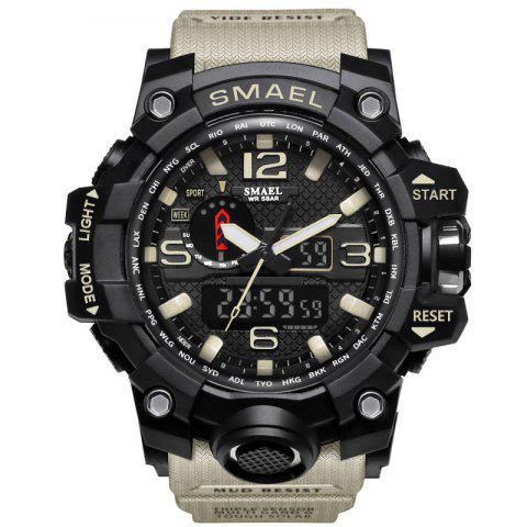 Buy Multifuctional Alarm Quartz Digital Sport Military Watch