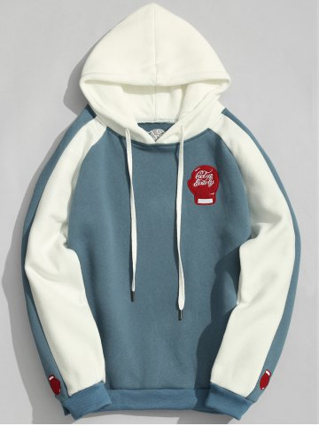 Buy Fleece Two Tone Hoodie