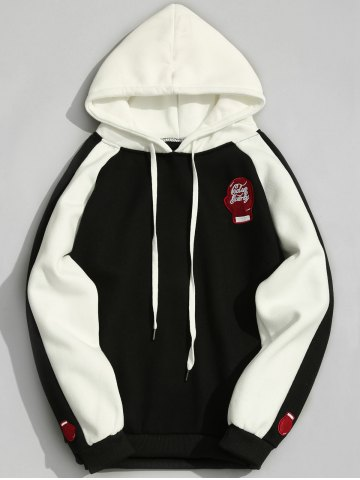 Hot Fleece Two Tone Hoodie