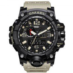 Multifuctional Alarm Quartz Digital Sport Military Watch -