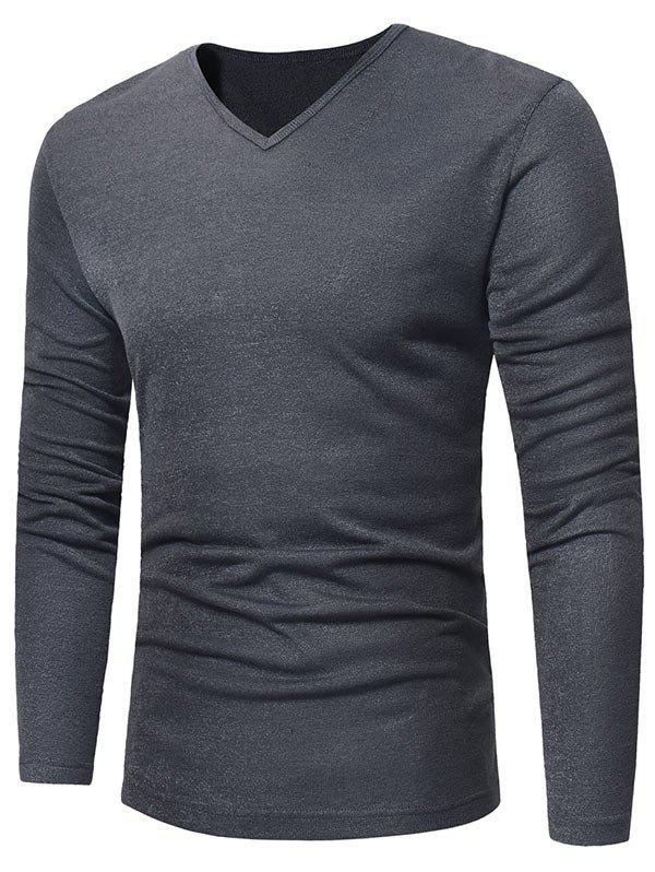 Buy V Neck Pullover Sweater