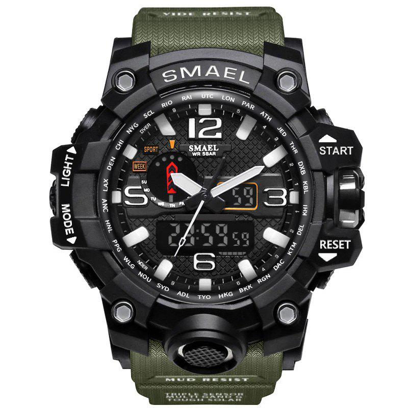 New Multifuctional Alarm Quartz Digital Sport Military Watch