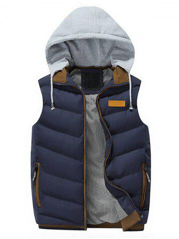 Discount Zip Up Hooded Lightweight Puffer Vest