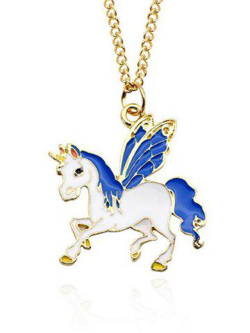Discount Unicorn Collarbone Pendant Necklace